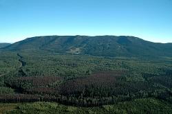 Murray Ridge Ski Hill in the summer
