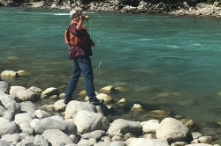 Fishing on the Pitt River