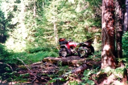 ATV at Evening Ridge