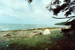 Camping on Christiansen Point