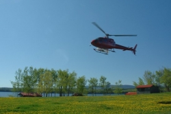Nulki Lake Ranch Helicopter