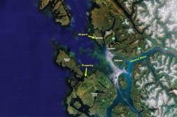 Porcher Island Satellite