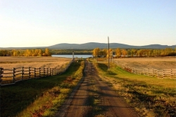 Fall at Nulki Lake Ranch