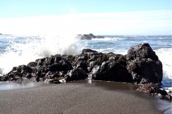 Splash - Cape Scott Provincial Park