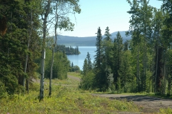 View of Francois Lake