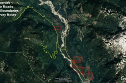Pitt Lake - Forest Service Roads in Area