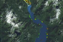 Pitt Lake Map