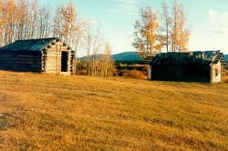 Ranch buildings Blair Meadows