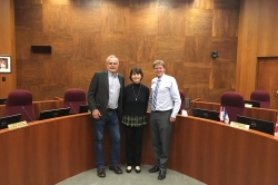 Visit to City Hall