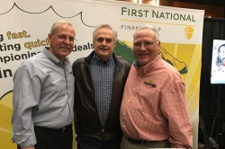 Rudy with Javier Pena and Steve Murphy of Narcos